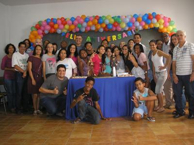"""Muita festa no aniversário dos """"Mensageiros de São Francisco"""""""
