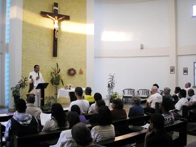 Fraternidades da OFS realizam retiro no Recanto Paz e Bem
