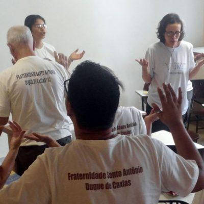 Fraternidade Santo Antônio realiza retiro espiritual e recebe novos irmãos