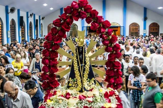 Festas Marianas Do Mês De Outubro Nossa Senhora Do: Festa De Nossa Senhora Aparecida Na Paróquia São Paulo