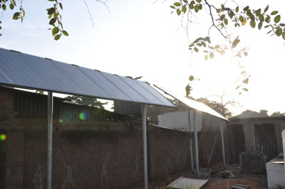 Energia Verde na Missão de Angola