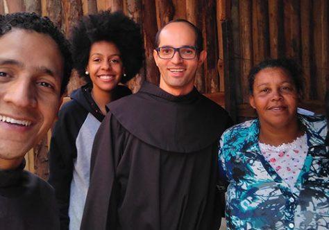 Missionários em ação no Jardim Bela Vista