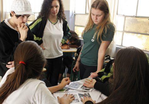 Unesco e Colégio ajudam alunos de escola pública