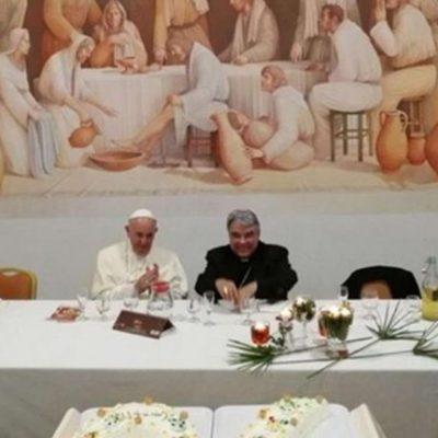 Papa Francisco visita bispo amigo de surpresa