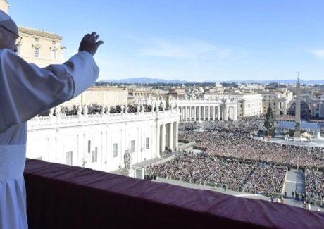 Bênção 'Urbi et Orbi' do Papa Francisco