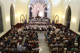 Corais dos Canarinhos realizam Concerto de Natal