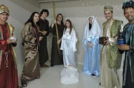 """""""Natal Feliz"""" na Paróquia Imaculada Conceição de Curitibanos (SC)"""