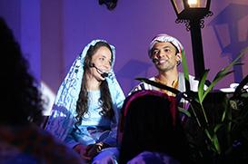 Vila Velha: espetáculo natalino encanta o público