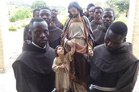 Com a admissão de dez jovens, nasce o Noviciado de Angola