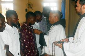 Postulantado de Angola começa com 27 candidatos