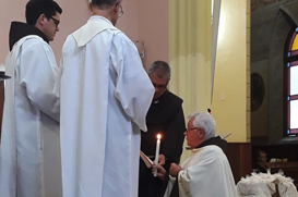 Frei José Ariovaldo celebra jubileu de ouro de vida religiosa