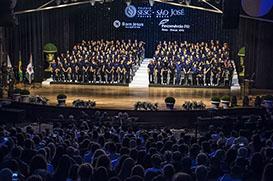 Alunos bolsistas do Colégio SESC São José ingressam na faculdade