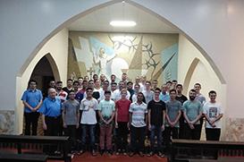 Seminário São Francisco acolhe 38 jovens