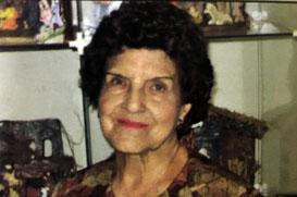 Aos 96 anos, falece a benfeitora Alzira de Oliveira