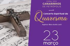 Coral dos Canarinhos de Petrópolis abre temporada de Concertos na cidade