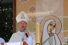 Romaria da Diocese de Colatina lembra tragédia de Brumadinho