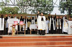 Capítulo de Angola: Missa no Kimbo São Francisco