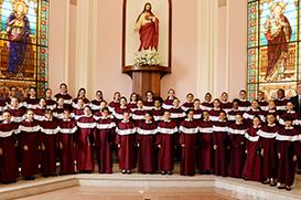 Cerimônia marca Investidura do Coral das Meninas dos Canarinhos de Petrópolis