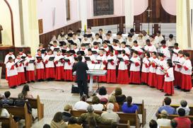Concerto dos Canarinhos faz homenagem a Maria