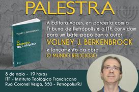 """Lançamento do livro """"O mundo religioso"""", no Instituto Teológico Franciscano"""