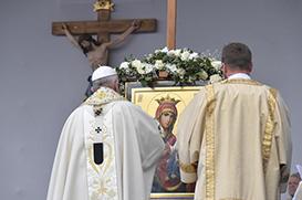 Papa na missa em Sófia: o amor de Deus é maior que qualquer pecado