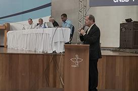 D. Walmor Azevedo é o novo presidente da CNBB. D. Jaime Spengler é eleito vice.