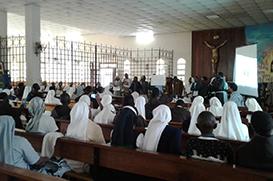 Angola: Frades participam do 1º Encontro de Juniores do ano