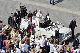 Papa: não há lugar para egoísmo na alma do cristão