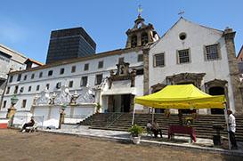 Convento Santo Antônio faz 411 anos. Seu Chico faz parte dessa história.