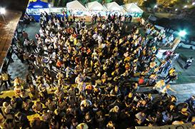Multidão se despede de Santo Antônio do Largo da Carioca