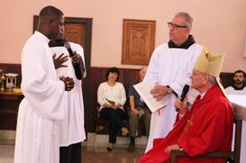 Frei Cambolo é ordenado no mesmo espírito de Pedro e Paulo