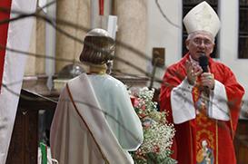Dom Rafael mostra o exemplo de Pedro como edificador da Igreja