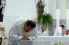 Agudos: Província entrega à Diocese cuidado pastoral da Paróquia Santo Antônio