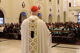 Missa em ação de graças pelos 80 anos do Amparo Maternal