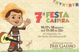 Seminário Frei Galvão promove 7ª Festa Caipira