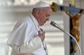 Papa: os projetos humanos sempre falham, somente a força de Deus permanece