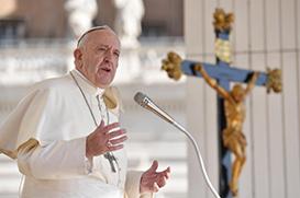 """Na Audiência, Papa recorda viagem apostólica: """"Com Maria viajo seguro"""""""