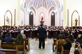 Mês da Bíblia termina solene com concerto do Coral das Meninas dos Canarinhos