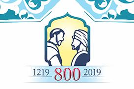 Muçulmanos e franciscanos repetem o gesto de Francisco e o Sultão
