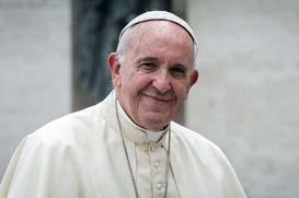 Papa Francisco no Japão e na Tailândia em novembro