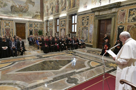 Papa: Progresso tecnológico da humanidade está baseado no bem comum