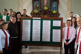 Comunidade em Porto União celebra 100 anos e recorda presença franciscana