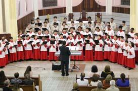 Canarinhos: Apresentações celebram São Francisco de Assis