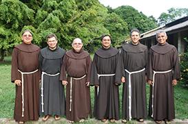 Frades da Custódia São Benedito da Amazônia elegem novo Conselho