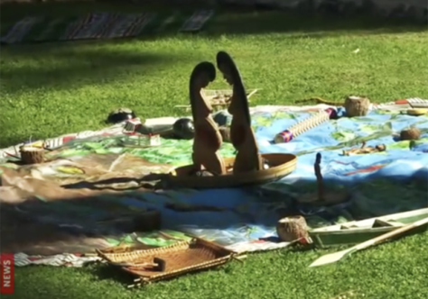 Intolerância e violência: Estátuas indígenas são jogadas no Rio Tibre
