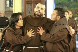 Franciscanos se reúnem para o tradicional 'Transitus' no Largo São Francisco
