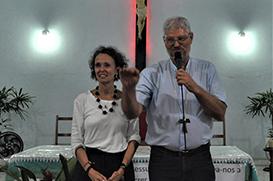 Em Imbariê, Dom Frei Evaristo e Moema falam sobre o Sínodo para a Amazônia