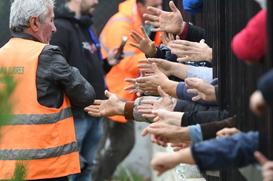 O Papa Francisco envia ajuda às vítimas do terremoto na Albânia