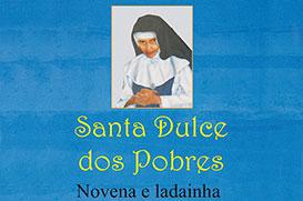 Novena de Santa Dulce dos Pobres entre os lançamentos da Vozes