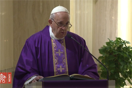 Papa: não deixemos Deus de lado. Se ele fizesse isso conosco, adeus Paraíso